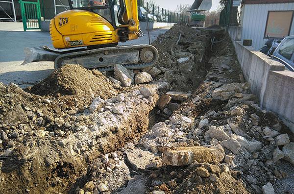 Izgradnja cjevovoda i kanalizacija